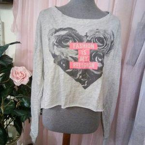 "New ""Fashion is my religion"" Sweatshirt"
